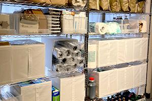 倉庫・バックヤードの整理収納